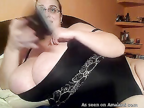 Monster boobed BBW.