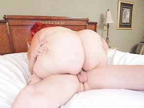 A gorgeous plump ass that looks great getting boned