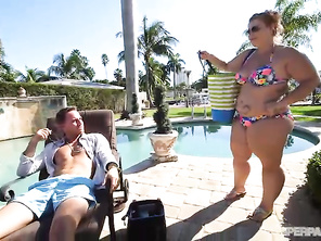 PAWG Poolside Pounding.