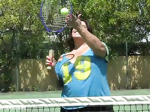 Tennis and a BBW Fuck.