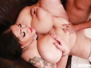 sexy bbw, she loves riding a big dong with that fat juicy ass