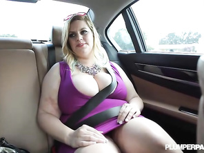 Cute broad, she needs to be cum in and yep thats all folks