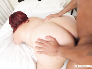 love the way he manhandles that delicious bbw