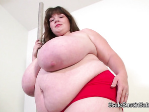 Lexxxi Lux is a sexy BBW is applying for a job stripping at Rodney's club.