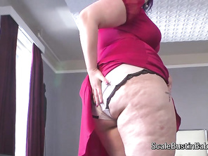 Kitty Styker is a chubby Mistress who is considering you to add to her group of face sitting slaves.