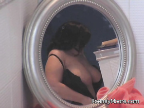 Maddy has answered an ad for plus size modeling, but she's a little surprised when Rodney hands her lingerie and a corset.