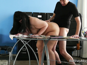 She's got some special tasks lined up for him starting with having him lick her pussy and her big ass.