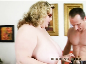 Our guy Rick was driving around hunting for some hot BBW meat and he was already horny.