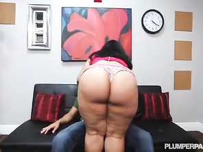 Cute Latina PLUMP Driving Instructor Fucked by Stud Student