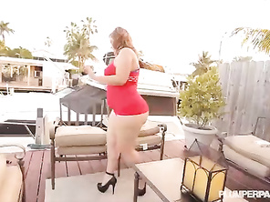 Huge Booty PAWG Mazzaratie Monica Takes On Shane Diesel