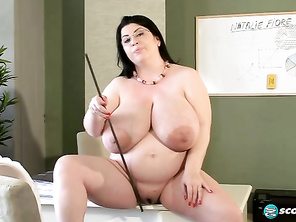 Have you ever had a schoolteacher as busty as Natalie Fiore, now in charge of this classroom.