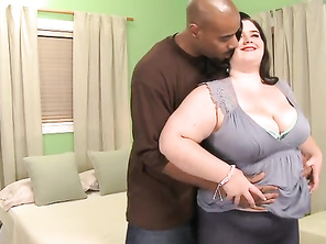 Holly Jayde from California returns for a healthy serving of interracial cream-pie courtesy of Mr.