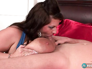 Maria knows the effect she has on guys and takes great pleasure in her powers.
