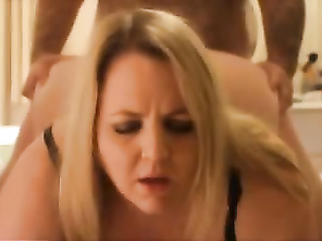 Blonde PLUMP Fucked and Cunt Cum On