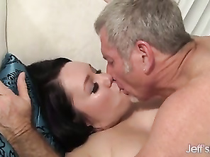 FATTY Alexxxia Allure Measures up a Dick