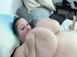 Housewife with massive natural tits