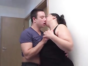 Huge mother kiss suck and fuck nymphos son