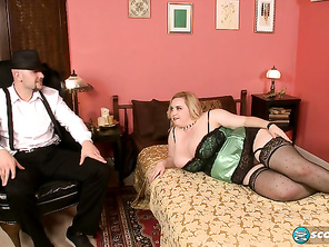 Nikky Wilder eye-bangs JMac and tells him in her bedroom voice what she wants to do to him.