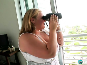 Veronica Vaughn Fun Jugs and Fuck Plump Butt and Chubby Strapon