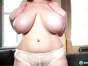Smiley Emma Smileys Pliable Boobs And Bushy Vagina and Free Chubby Lady Porn and Plump Sloppy Blowjobs