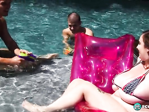 Milly Marks DP Pool Party and Free Pics Chubby and Chubby Smother
