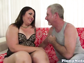 Doggystyled bigass plump loves riding dick