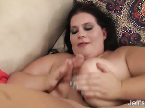 Fatty Becki Butterfly Rides a Hard Dick