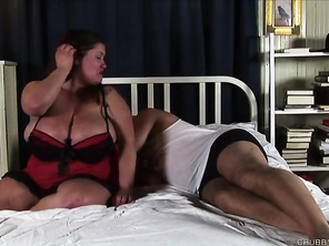 Fabulous bbw loves fucking and sticky facial cumshots