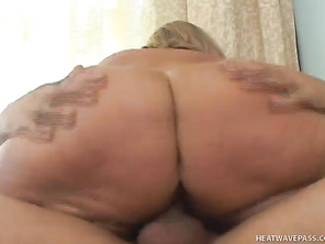Not only is this marginally attractive fatty getting fucked, but she is getting done by one of the most experienced and largest cocks in the world.