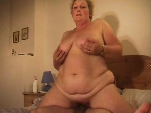 Her hips get thrust up and soon she is moaning and screaming