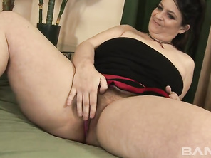 Kacie Hunt is a big beautiful woman with a very large mons pubis.