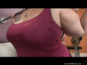 Veronica Bottoms is an incredibly curvy gal with a huge bubbly ass and big natural tits.
