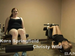 Christy Wild and Kara Springfield are going to be showing you how they get each other a climax without using any sex toys.