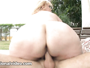 This chubby bitch was in desperate need of some dick
