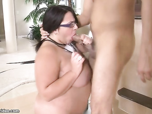 I love how he plays with her tits during the st minutes