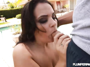 Love watching a powerful large cock take over a white pussy