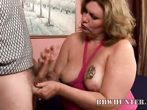 Of course, I had to approach this sexy BBW cautiously for I don't want to scare her away.