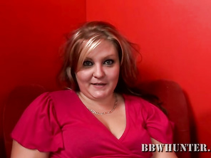 Dani's beautiful eyes were what kept me glued to this gorgeous BBW.