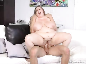 Cute Slutty CHUBBY Hillary Hooterz Loves Big Cocks