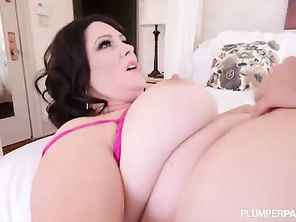 Plump Big Tit MILF Gets Fucked in the Ass by College Stud 2_bbw_2_video_2