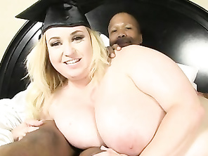 FAT cutie Nikky Wilder graduates & is Diamond Lou certified