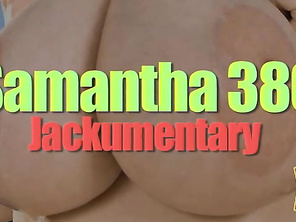Samantha38G's first appearance in V-mag was the Holiday 2001 issue.