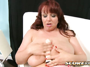 Star of Ultimate Cherry, Voluptuous Xtra 8 and the Busty Ladies of Oil Wrestling.
