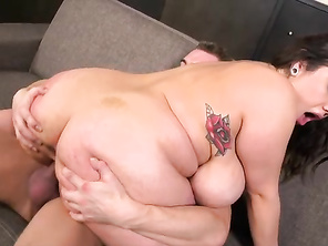 You could spend hours alone playing with her 38G-cup tits and hard nipples before you got to her pussy.