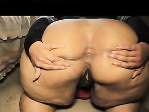 BUSTED MASSIVE BIG LOAD IN ASSFUCK QUEEN CUM BUBBLE