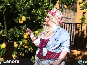 Lucy Lenore Cowgirl In The Sun and Free Chubby Man Sex and Fat Cunt Bondage