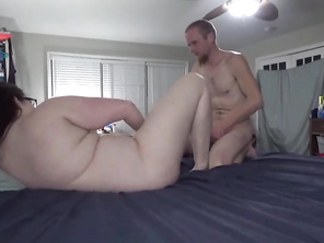 Fat big tit milf fucked and creampied angle 5
