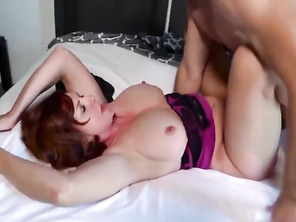 Andi James in I forced my Mommy to take a creampie