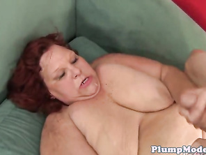 Mom PLUMP doggystyled before sucking dick