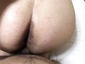 Fucking Hairy FAT AMATEUR in Hotel Bed